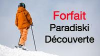 forfait ski paradiski découverte
