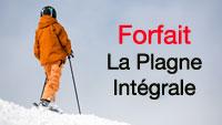forfait ski la plagne intégrale