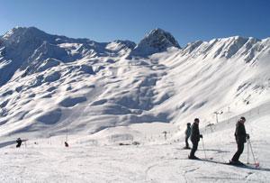 location de ski à la Plagne - Paradiski