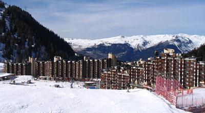 location de ski à plagne bellecote