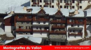 residence montagnettes du vallon belle plagne