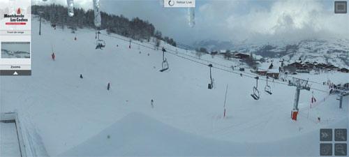 montchavin neige 27 decembre 2014