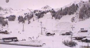 neige plagne bellecote 5 novembre 2017