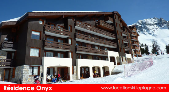 résidence onyx belle plagne station ski