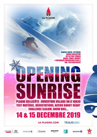 ski la plagne 14 decembre 2019